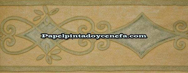 Todas las cenefas cenefa papel pintado ref c 540325 for Cenefas papel pintado