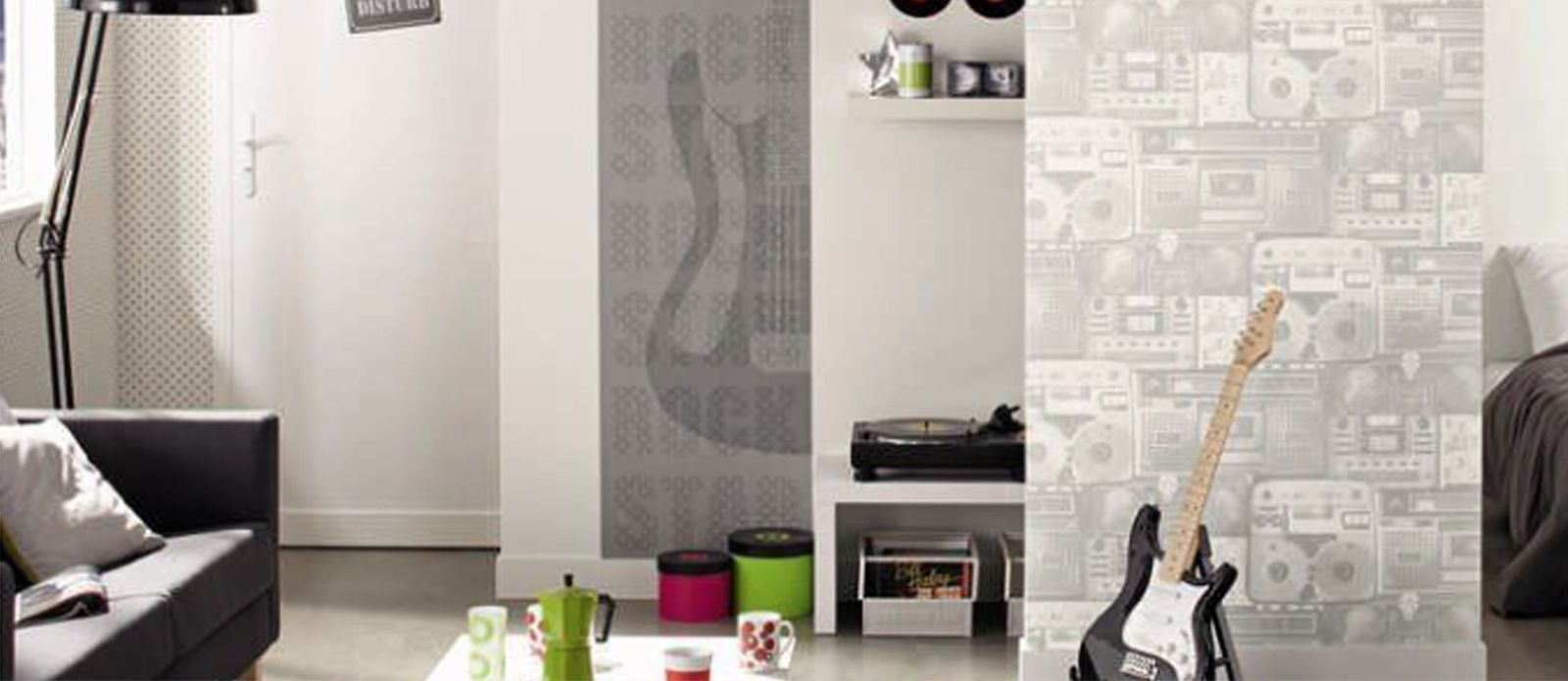 Papel pintado y cenefa - Cenefas para pasillos ...