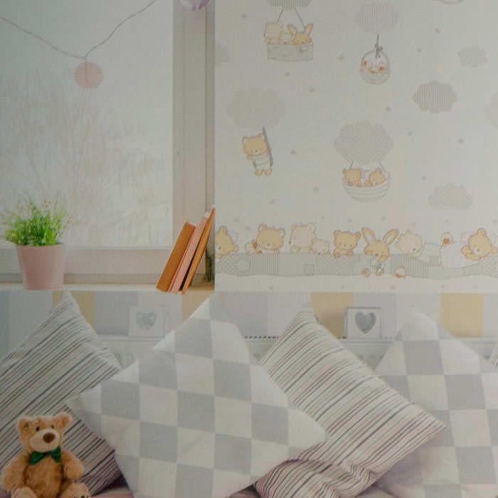 Cenefas infantiles cenefa papel pintado treboli ref c 590 3 - Cenefas papel pintado ...
