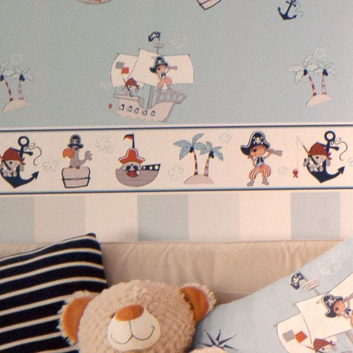 Cenefas infantiles cenefa papel pintado treboli ref c 593 1 - Cenefas papel pintado ...