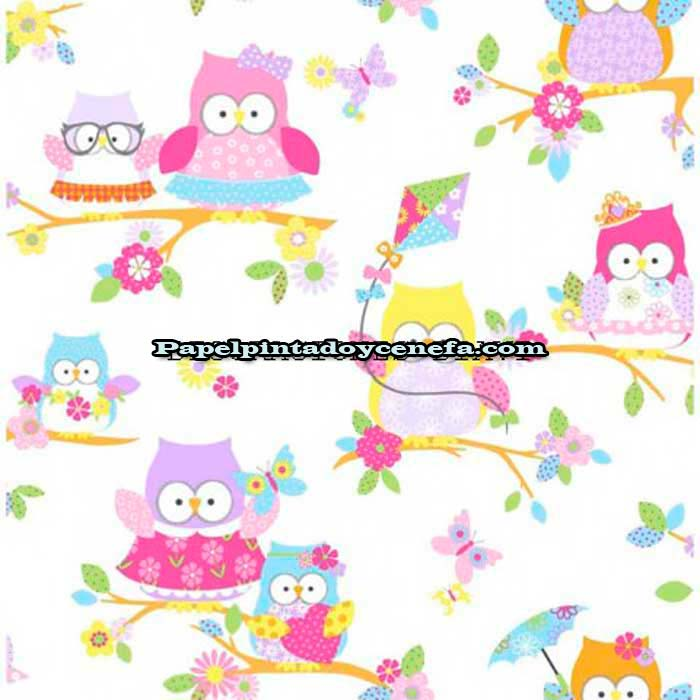 Papel Pintado Kids Home 5 Ref. 100115