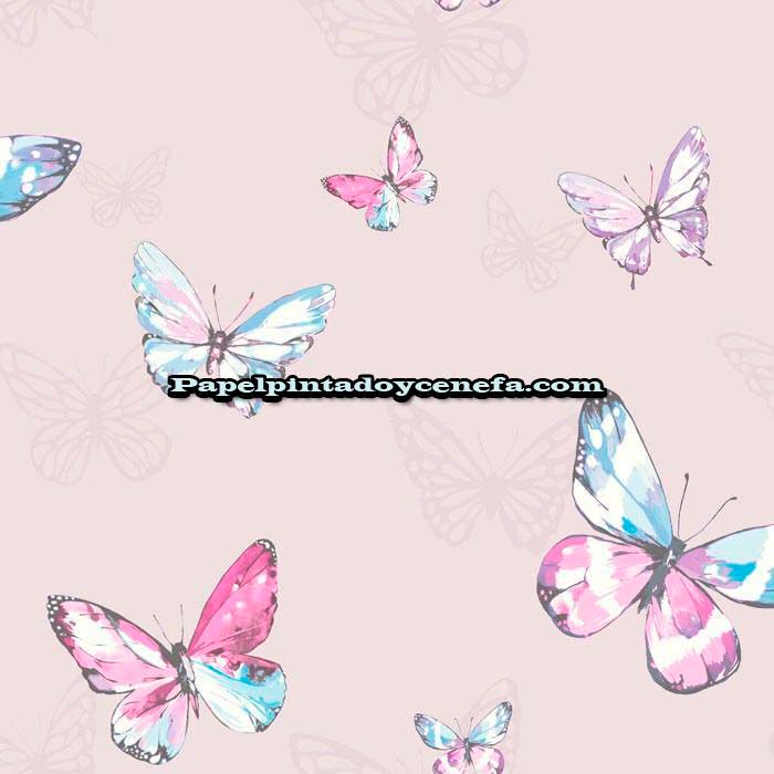 753-1398870-Papel-Pintado-Botanical-Designs-Iberostil-Mariposas-multicolor