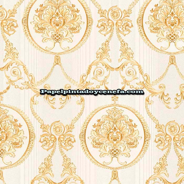 771-33083-4-Papel-Pintado-Hermitage-10-A.S.-Creation-Arabesco-oro
