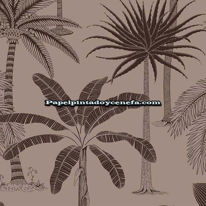779-36503-Papel-Pintado-Jungle-Jive-HOOKEDONWALLS-Arboles-marron
