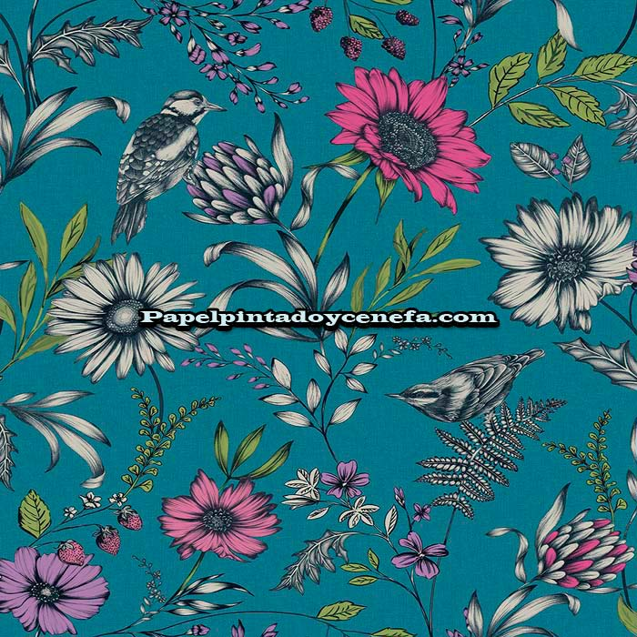 799-676001-Papel-Pintado-Bloom-Arthouse-Flores-multicolor