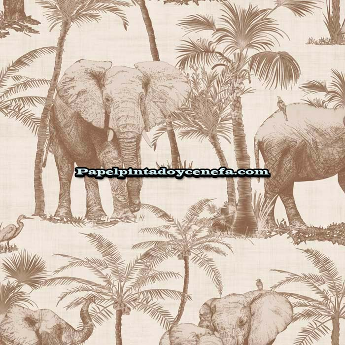 800-610703-Papel-Pintado-Journeys-Gestera-Animales-beige