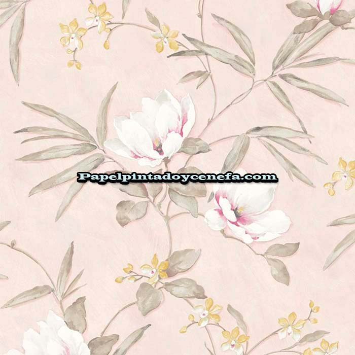812-158-3800-Papel-Pintado-Flowers-&-Colours-Saint-Honore-Flores-beige