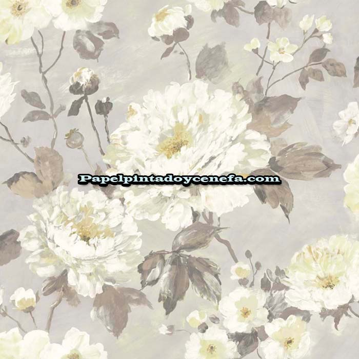 812-158-3806-Papel-Pintado-Flowers-&-Colours-Saint-Honore-Flores-beige
