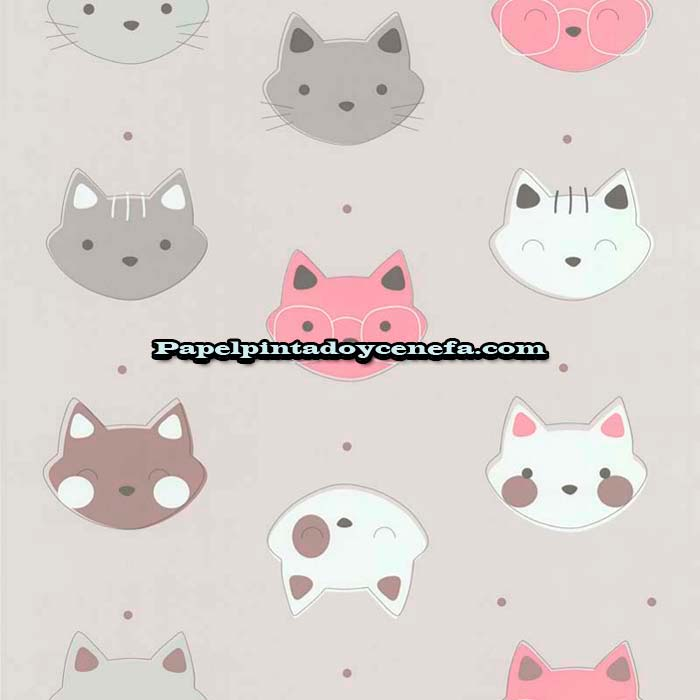 817-247-3622-Papel-Pintado-Funny-Walls-3-Colowall-Animales-gris