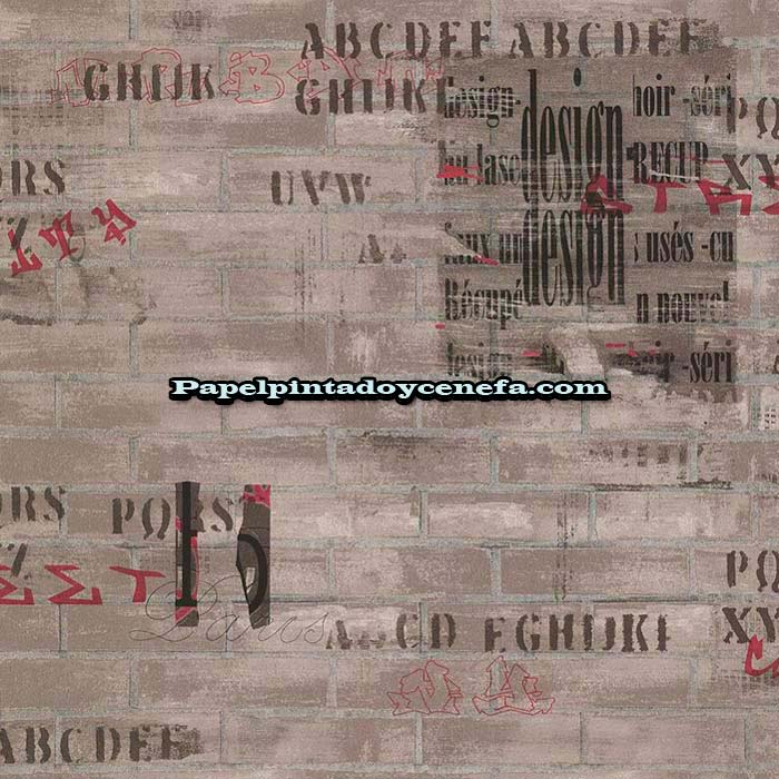 817-247-3630-Papel-Pintado-Funny-Walls-3-Colowall-Letras-numeros-marron