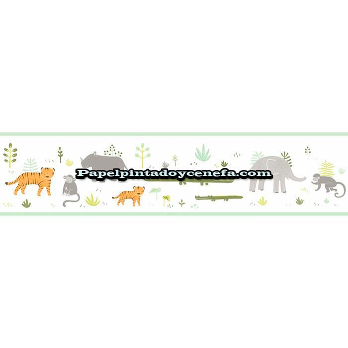 838-C-HPDM-82887332-Cenefa-Papel-Pintado-Happy-Dreams-Casadeco-Animales-multicolor