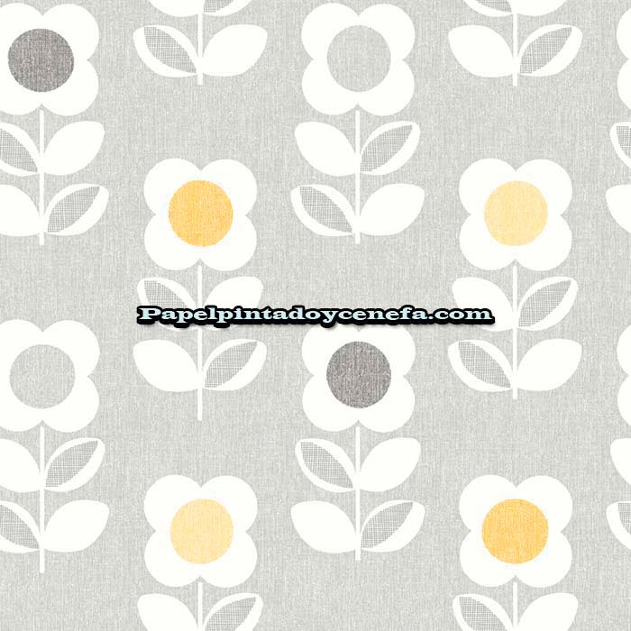 856-901907-Papel-Pintado-Retro-Housee-Arthouse-Flores-blanco