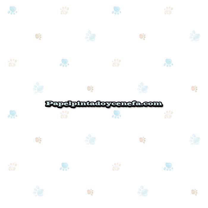 872-009CAN-Papel-Pintado-Candy-Decoas-Huellas-azul