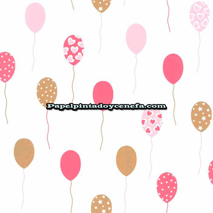 893-GPR-100864308-Papel-Pintado-Girl-Power-Caselio-Globos-rosa
