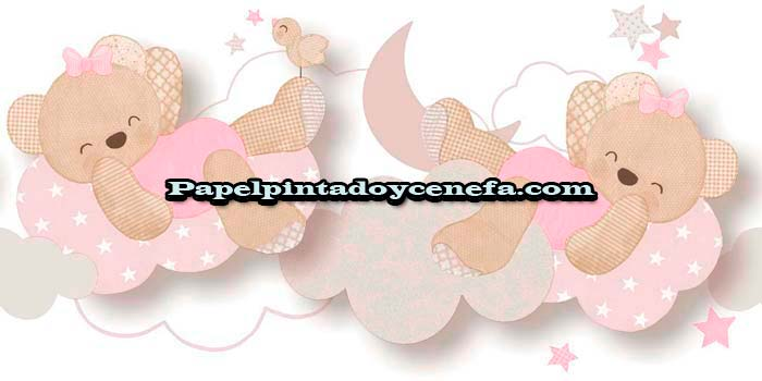 905-C-164592-Cenefa-Papel-Pintado-Illusions-World--Iberostil-Ositos-rosa