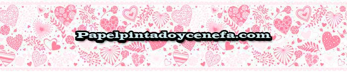 932-C-36982-1-Cenefa-Papel-Pintado-Only-Borders-10-A.S.-Creation-Corazones-rosa