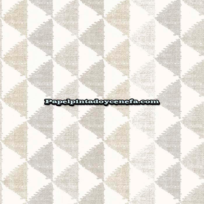 80389808 Intuition Black Soild Pattern Casadeco Wallpaper