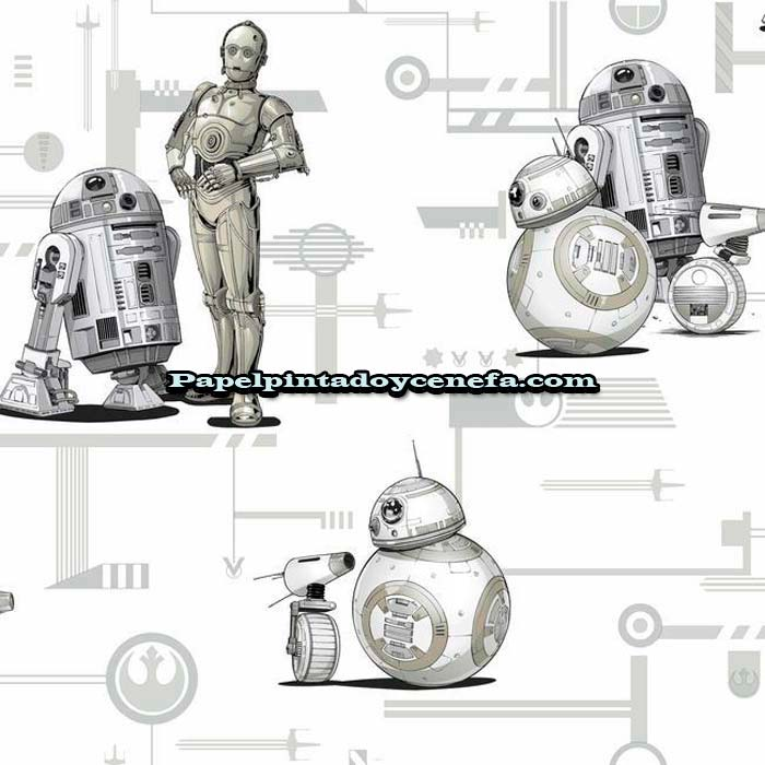978-DI0947-Papel-Pintado-Disney-Kids-4-York-Star-Wars-gris