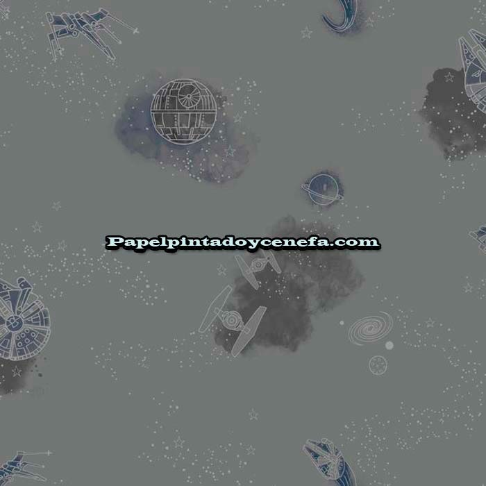 978-DI0999-Papel-Pintado-Disney-Kids-4-York-Star-Wars-plata