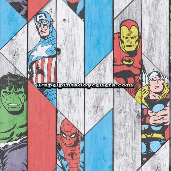 988-236-1502-Papel-Pintado-Individual-Kids@Home-Colowall-Marvel-multicolor