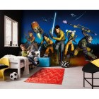 Mural Star Wars Marvel Pixar Disney Ref. M-8-486-STAR-WARS-REBELS-RUN