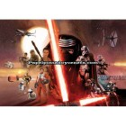 Mural Star Wars Marvel Pixar Disney Ref. M-8-492-STAR-WARS-EP7