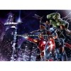 Mural Star Wars Marvel Pixar Disney Ref. M-4-434-AVENGERS-CITYNIGHT