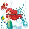 Sticker Star Wars Marvel Pixar Disney Ref. S-14013-H-ARIEL